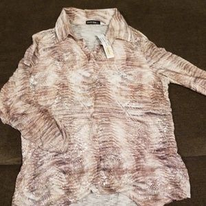 David Cline Button Down Shirt NWT